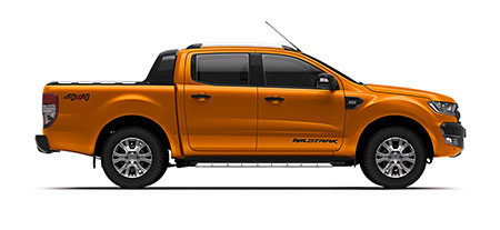 Ford Ranger Double Cab 4x4 3.2L Wildtrak 4x4 6AT ปี 2017