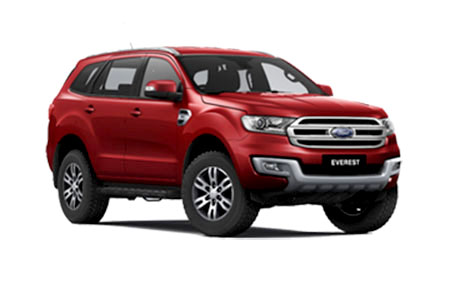 ฟอร์ด Ford-Everest 2.2L Titanium 4x2 AT-ปี 2017