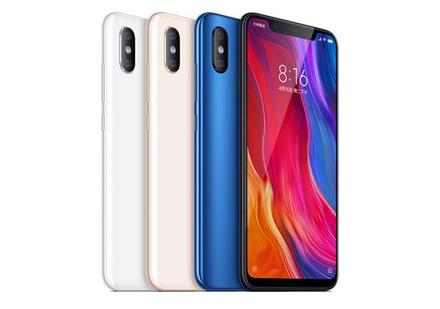 Xiaomi Mi 8 64GB ราคา-สเปค-โปรโมชั่น