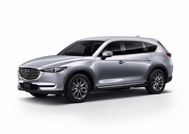 มาสด้า Mazda-CX-8 2.2 XDL SKYACTIV-D 7 Seat-ปี 2019