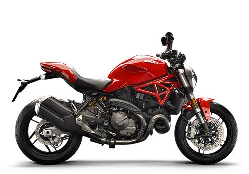 ดูคาติ Ducati-Monster 821 Red MY18-ปี 2018