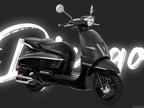 Peugeot Motocycles Django ทุกรุ่นย่อย
