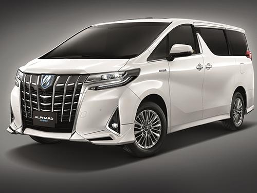 โตโยต้า Toyota-Alphard 2.5 Hybrid MY2018-ปี 2018
