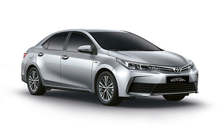 โตโยต้า Toyota Altis (Corolla) 1.8 E A/T ปี 2017
