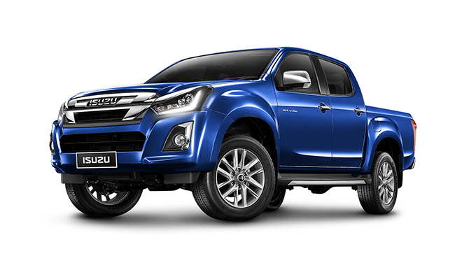 อีซูซุ Isuzu-D-MAX Hi-Lander 4-Door 1.9 Ddi Z-Prestige Blue Power M/T MY18-ปี 2018