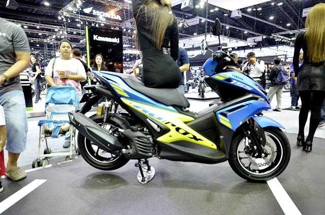 ยามาฮ่า Yamaha-Aerox 155 ABS Version MY18-ปี 2017