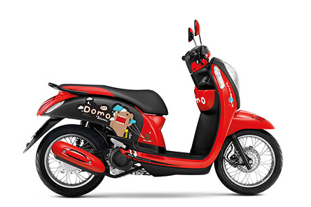 ฮอนด้า Honda-Scoopy i Domo-Kun Limited Edition-ปี 2016