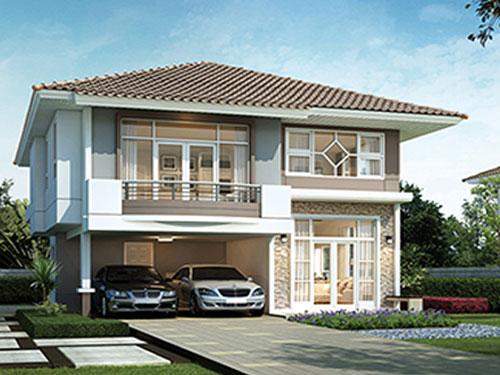 บ้านศุภาลัย Supalai ศุภาลัย การ์เด้นวิลล์ Logo