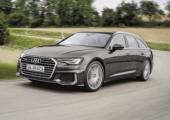 ออดี้ Audi-A6 Avant 55 TFSI quattro S line MHEV-ปี 2018