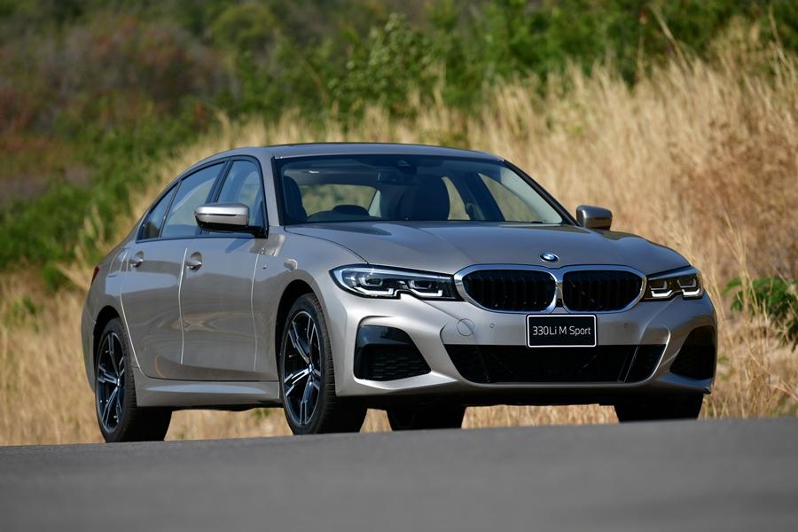 BMW Series 3 330Li M Sport ปี 2021 ราคา-สเปค-โปรโมชั่น