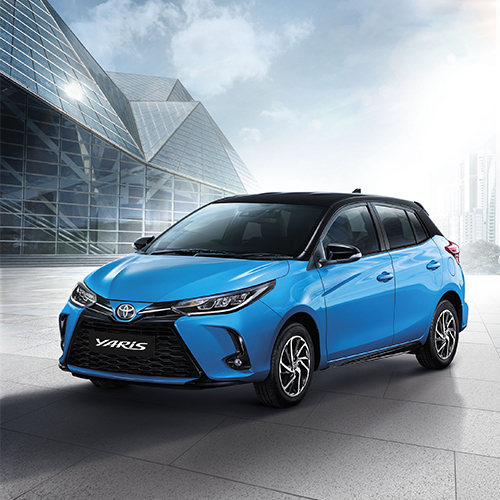 Toyota Yaris Sport Premium with Black Roof ปี 2020 ราคา-สเปค-โปรโมชั่น