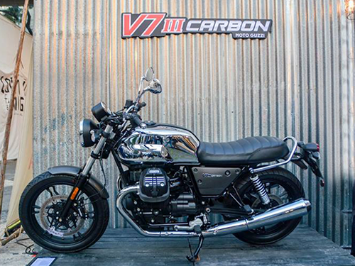 โมโต กุชชี่ Moto Guzzi-V7 III Carbon Shine Limited Edition-ปี 2018