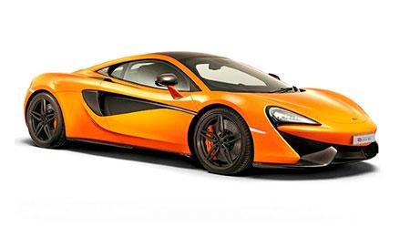 รถยนต์แมคลาเรน McLaren 570S Coupe Logo