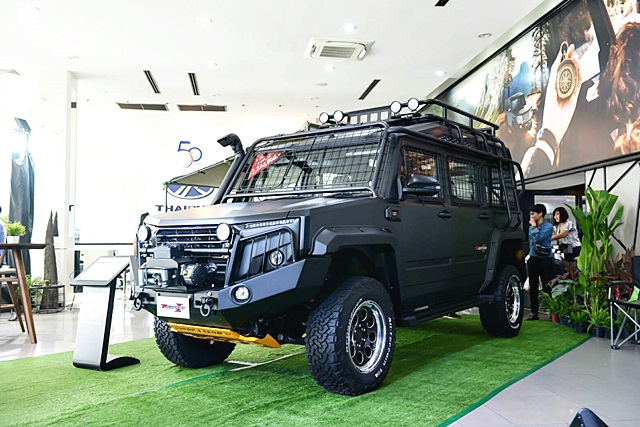 ไทยรุ่ง Thairung-Transformer II X-Treme 2.8 4WD AT-ปี 2018