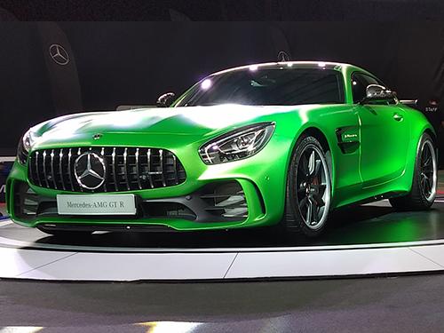 เมอร์เซเดส-เบนซ์ Mercedes-benz-AMG GT R-ปี 2017