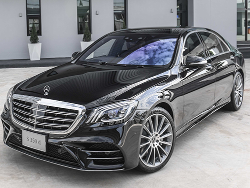 รถยนต์เมอร์เซเดส-เบนซ์ Mercedes-benz S-Class Logo