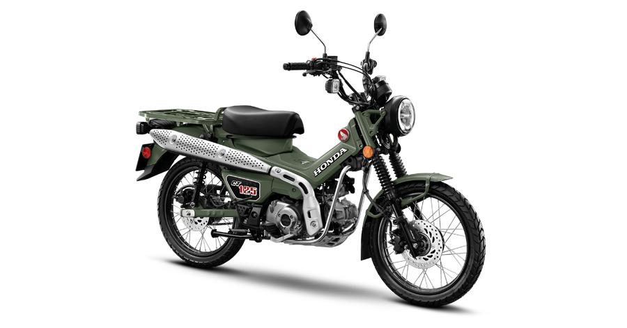 Honda CT125 MY2021 ปี 2021 ราคา-สเปค-โปรโมชั่น