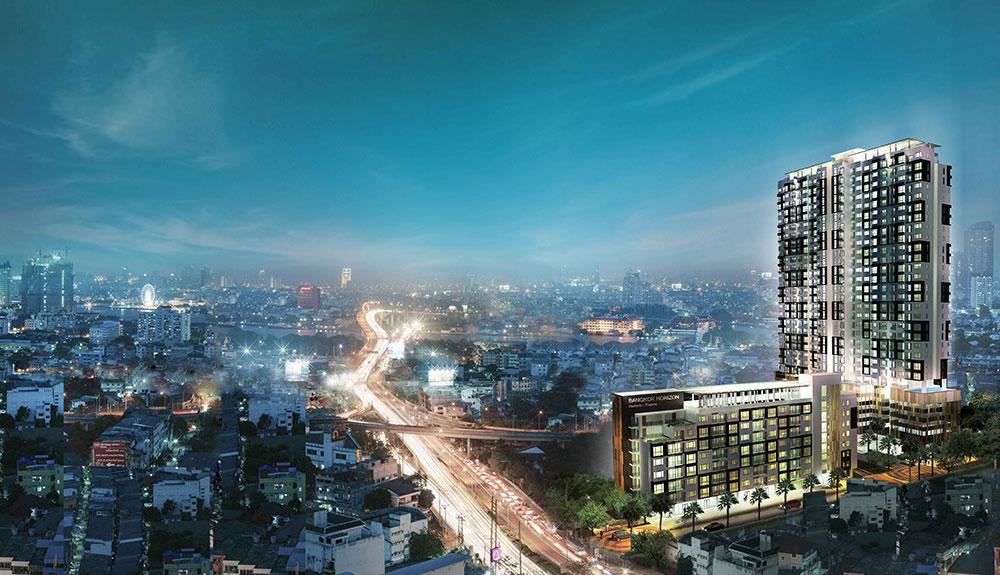 แบงค์คอก ฮอไรซอน รัชดา-ท่าพระ (Bangkok Horizon Ratchada-Thaphra) ราคา-สเปค-โปรโมชั่น
