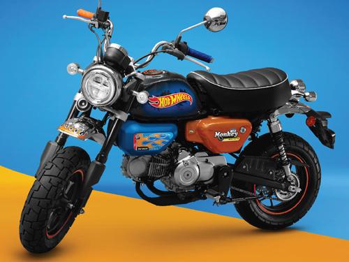 Honda Monkey x Hot Wheels Limited Edition ปี 2021 ราคา-สเปค-โปรโมชั่น