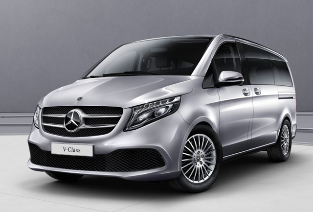 เมอร์เซเดส-เบนซ์ Mercedes-benz-V-Class V 220 D Avantgarde Premium-ปี 2019