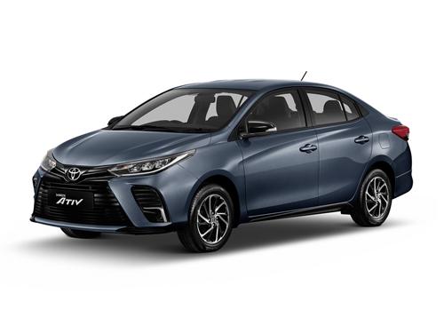 Toyota Yaris ATIV Sport MY2021 ปี 2021 ราคา-สเปค-โปรโมชั่น
