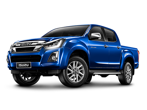 อีซูซุ Isuzu-D-MAX Hi-Lander 4-Door 1.9 Ddi L Blue Power M/T-ปี 2018