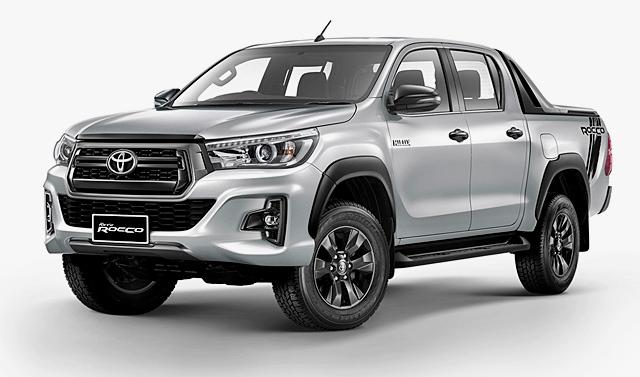 โตโยต้า Toyota-Revo Double Cab Prerunner 2X4 2.4G ROCCO MT-ปี 2018