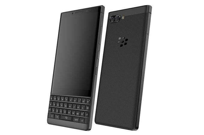โทรศัพท์มือถือแบล็กเบอรี่ BlackBerry Key2 Logo