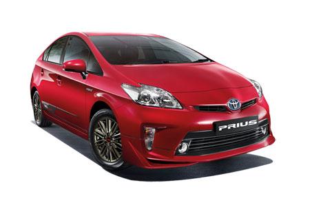 โตโยต้า Toyota-Prius TRD Sportivo II Standard-ปี 2012