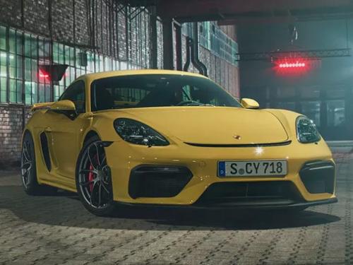 รถยนต์ปอร์เช่ Porsche 718 Logo