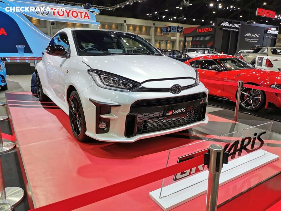 Toyota GR Yaris ปี 2020 ราคา-สเปค-โปรโมชั่น