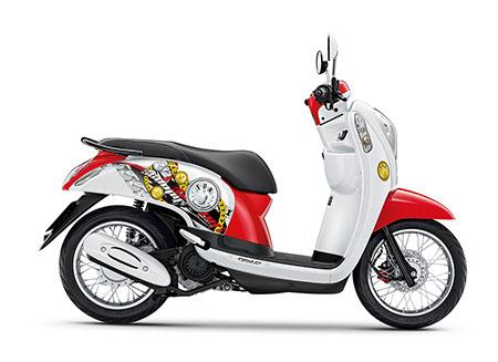 ฮอนด้า Honda-Scoopy i Active Boy 2014 ACF110SFF (2TH)-ปี 2014