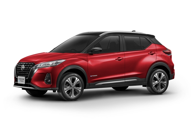 Nissan KICKS 1.2L S ปี 2021 ราคา-สเปค-โปรโมชั่น