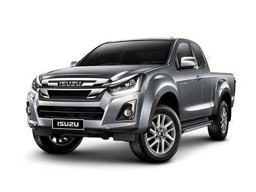 อีซูซุ Isuzu-D-MAX Hi-Lander 2-Door 1.9 Ddi Z-Prestige Blue Power M/T MY18-ปี 2018