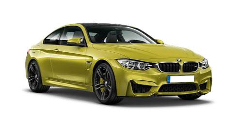 รถยนต์บีเอ็มดับเบิลยู BMW M4 Logo
