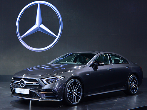 เมอร์เซเดส-เบนซ์ Mercedes-benz-AMG CLS 53 4MATIC+-ปี 2018