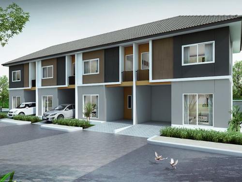 บ้านพฤกษา บ้านโพธิ์ - มอเตอร์เวย์ (Baan Pruksa Baan Poe - Motorway) ราคา-สเปค-โปรโมชั่น
