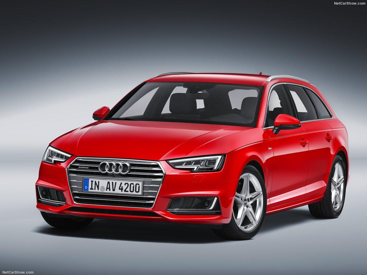 ออดี้ Audi-A4 Avant Black Edition-ปี 2017