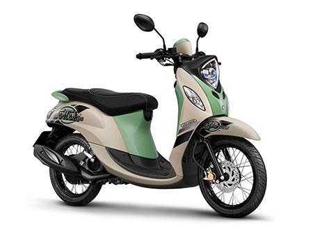 ยามาฮ่า Yamaha-Fino 125 Retro-ปี 2015