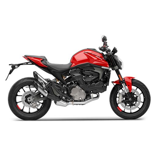 รถมอเตอร์ไซค์ดูคาติ Ducati Monster Logo