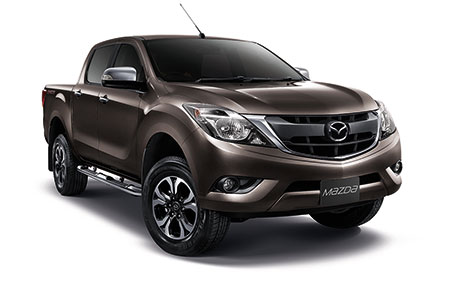 มาสด้า Mazda-BT-50 PRO DoubleCab 2.2 Hi-Racer ABS AT/Leather-ปี 2017
