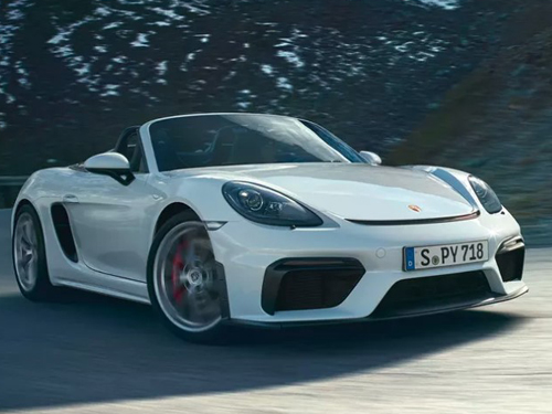 Porsche 718 Spyder ปี 2020 ราคา-สเปค-โปรโมชั่น