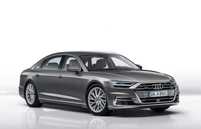Audi A8 L 55 TFSI quattro Premium ปี 2018 ราคา-สเปค-โปรโมชั่น