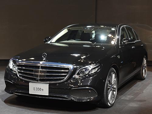 เมอร์เซเดส-เบนซ์ Mercedes-benz-E-Class E 350 e Exclusive-ปี 2017