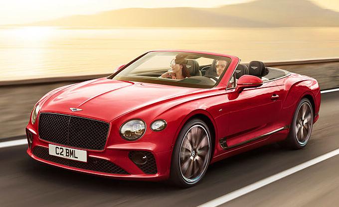 Bentley Continental ทุกรุ่นย่อย