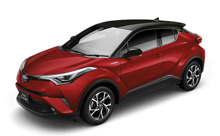 Toyota C-HR HV Mid ปี 2019 ราคา-สเปค-โปรโมชั่น