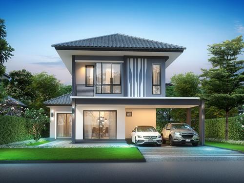 บ้านดี-แลนด์ กรุ๊ป เดอะพราวไรส์ Logo
