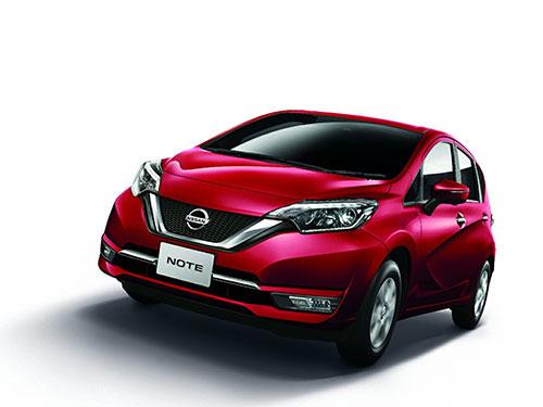 รถยนต์นิสสัน Nissan Note Logo
