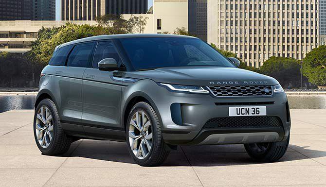 Land Rover Range Rover Evoque Logo