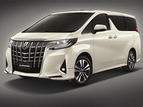 โตโยต้า Toyota-Alphard 3.5 VIP MY2018-ปี 2018